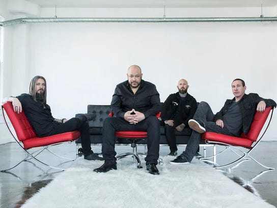Metal band Devil You Know, featuring ex-Killswitch