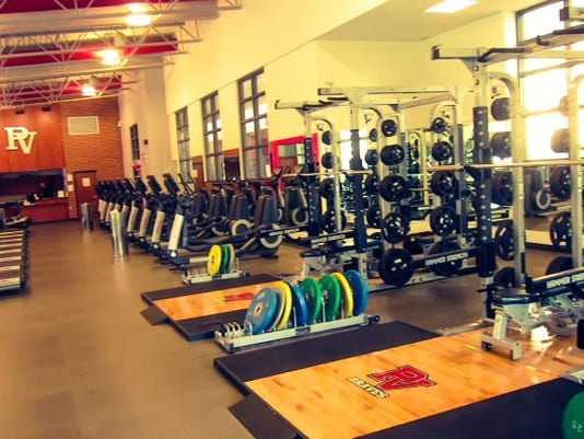 Pequea Valley's weight room is well-equipped to help athletes reach their potential.