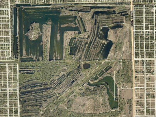 A 457-acre segment of a failed Lehigh Acres development