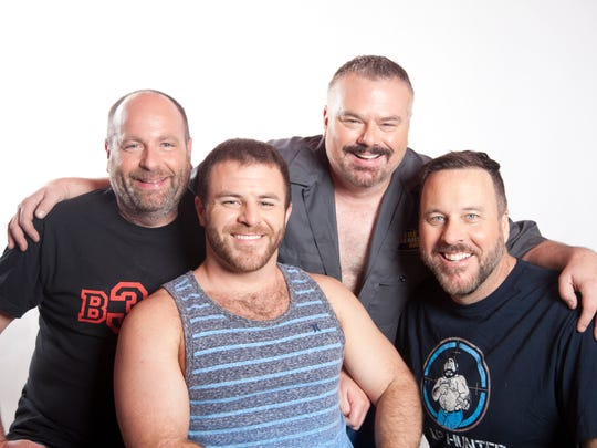 "Starring in ""Where the Bears Are"" since its 2012 launch are (left to right) Rick Copp, Ian Parks, Ben Zook and Joe Dietl. Copp, Dietl and Zook also are producers and creators of the web series."