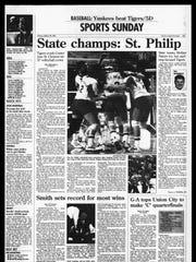 Battle Creek Sports History: Week of March 16, 1997
