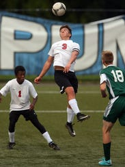 Crosspoint senior Aydan Laurion was a ball boy for Crosspoint's girls soccer team when the Warriors won state titles in 2013 and 2014.