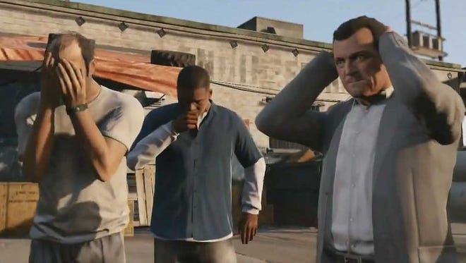Interview: Crime pays for 'Grand Theft Auto V' actors