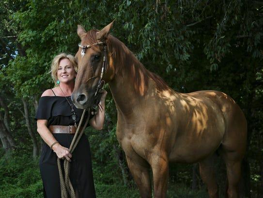 Interior designer Tammy Randall of New Albany describes