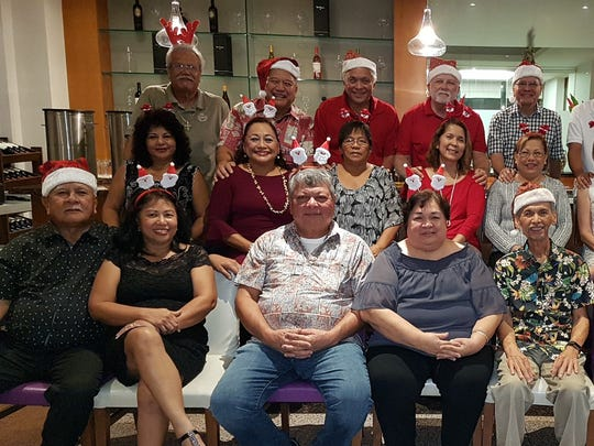 The Friars Class of 68 and their better halves met recently for dinner at the Fiesta Resort Hotel to celebrate the Holidays in anticipation of their Golden Graduation Anniversary Reunion Feb. 2018.