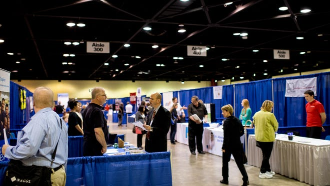 There will be more than 100 employers with 1,700 available jobs at the Bay Area Career Expo.
