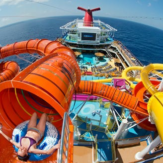 Photo tour: Cruise ship pool decks that will blow your mind