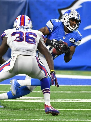 Lions receiver Jay Lee finished with six receptions for 78 yards in Thursday's 31-0 exhibition finale win over the Bills.