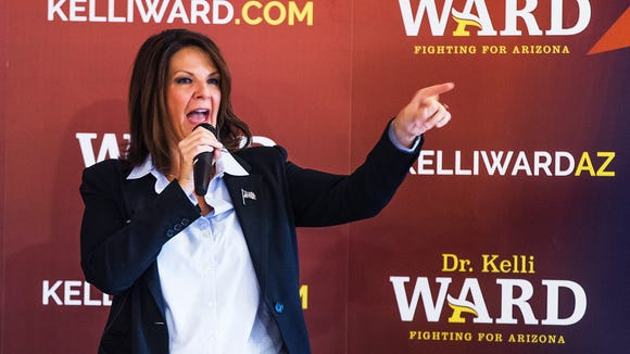 State Sen. Kelli Ward, R-Lake Havasu City, has raised