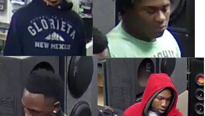 Suspects in gun theft