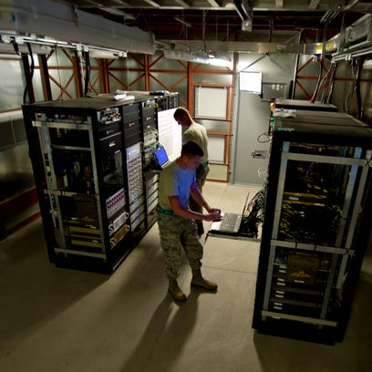 The 49th Communications Squadron at Holloman Air Force Base is spearheading a team effort to ensure its networks are U.S. Cyber Command compliant and protected from outside vulnerabilities.