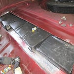 Customs officers seize 15 pounds of cocaine found in car's trunk at Bridge of the Americas
