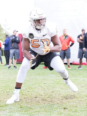 Kai-Leon Herbert is ranked by rivals.com as the No. 10 offensive tackle and No. 61 overall player in the nation.