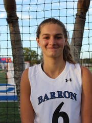 Barron Collier High School girls lacrosse player Madison Ryan