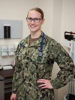 Petty Officer 1st Class Charlcie Roman