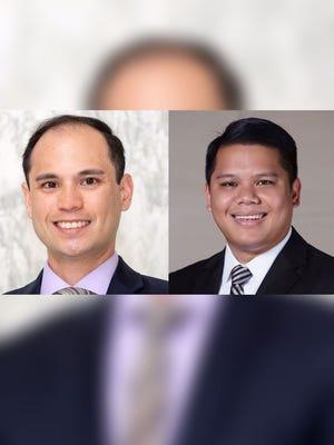Adam Phillip Carbullido and Jon Junior Calvo are shown in this combined photo