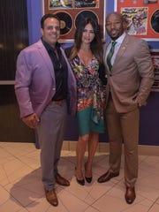 Bobby and Nadya Nahra with Armond Rashad.