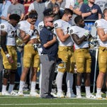 Notre Dame's Brian Kelly discusses players' right to displays of solidarity