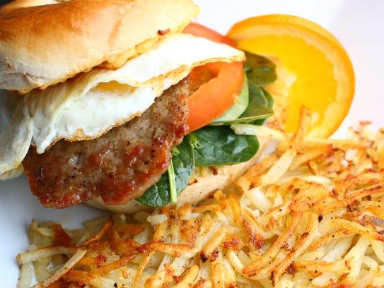 Morning Glory sandwich at Scramble (a breakfast & lunch