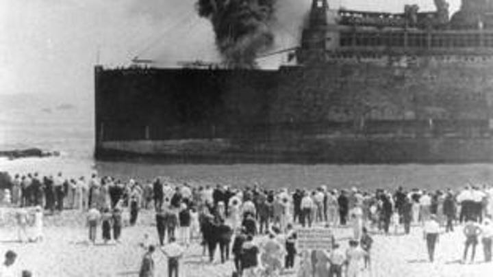 Morro Castle: 'They piled bodies at this house'