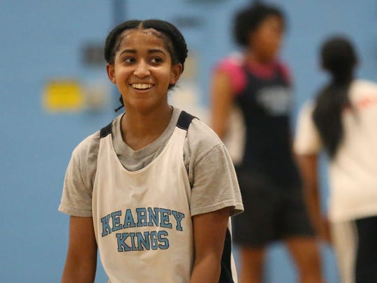 Marianna Freeman, 14, is a freshman guard for Bishop