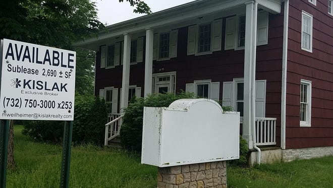 The South County branch of the Hunterdon County Library may be moving to this building for sale in Ringoes.
