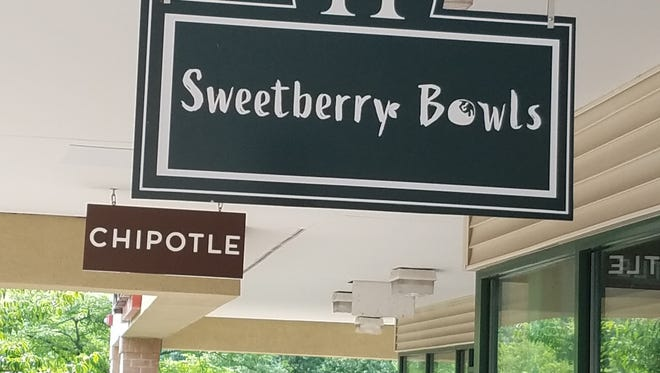 Chipotle and Sweetberry Bowls are preparing to open in Hillsborough Centre on Route 206.