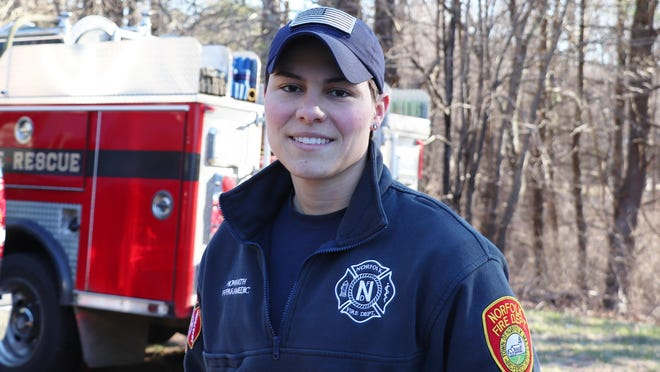 During the coronavirus pandemic, former University of Miami soccer standout Kate Howarth is working on the front lines as a firefighter and EMS director.