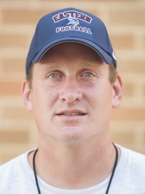 Dan Boguszewski has resigned as the Eastern football coach after three seasons.