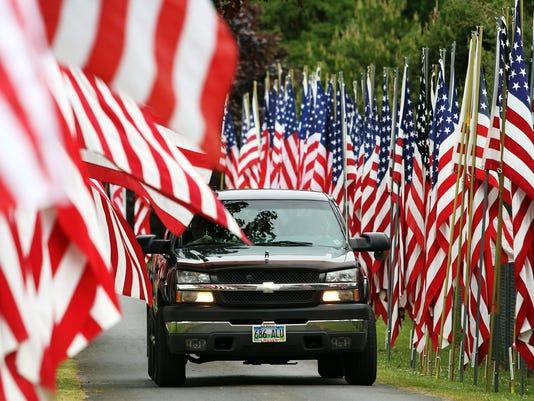 Dallas Cemetery Flags