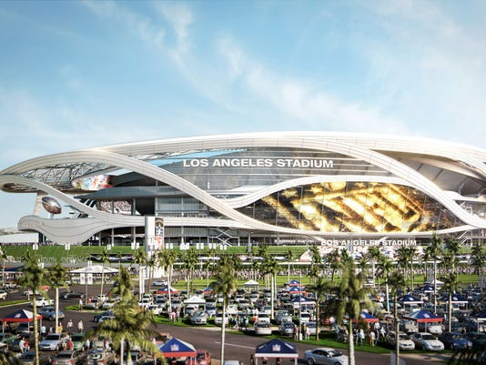 Are two NFL teams too much at once for L.A.? Los Angeles Once on
