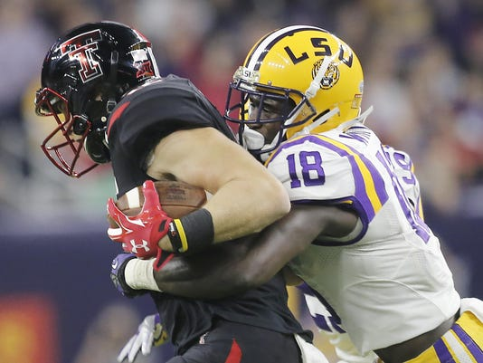 NCAA Football: Texas Bowl-Louisiana State vs Texas Tech