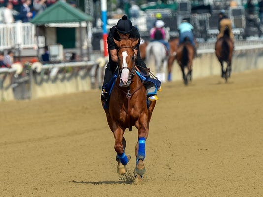 Horse Racing: Belmont-Workouts