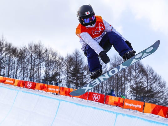 Olympics: Snowboard-Womens Halfpipe Qualification
