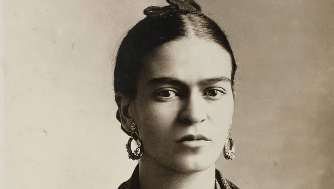 "Frida Kahlo by Guillermo Kahlo, 1932. Part of the exhibit ""Frida Kahlo - Her Photos"" at the Heard Museum."