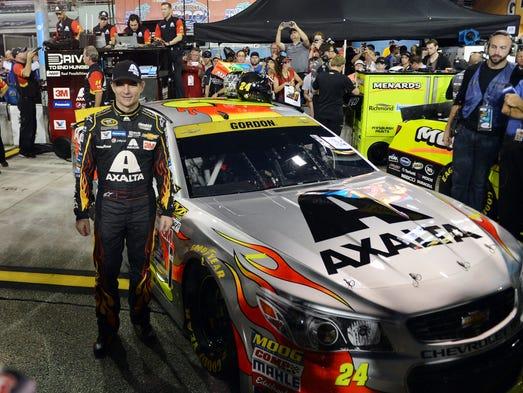 Nascar Sprint Cup Jeff Gordon Pulls Off A Little More