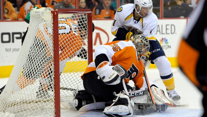 Nashville beat the Flyers in a shootout 4-3 in their trip to Philly last season.