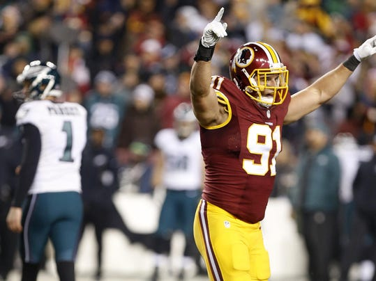 Purdue S Ryan Kerrigan Signs Extension With Redskins