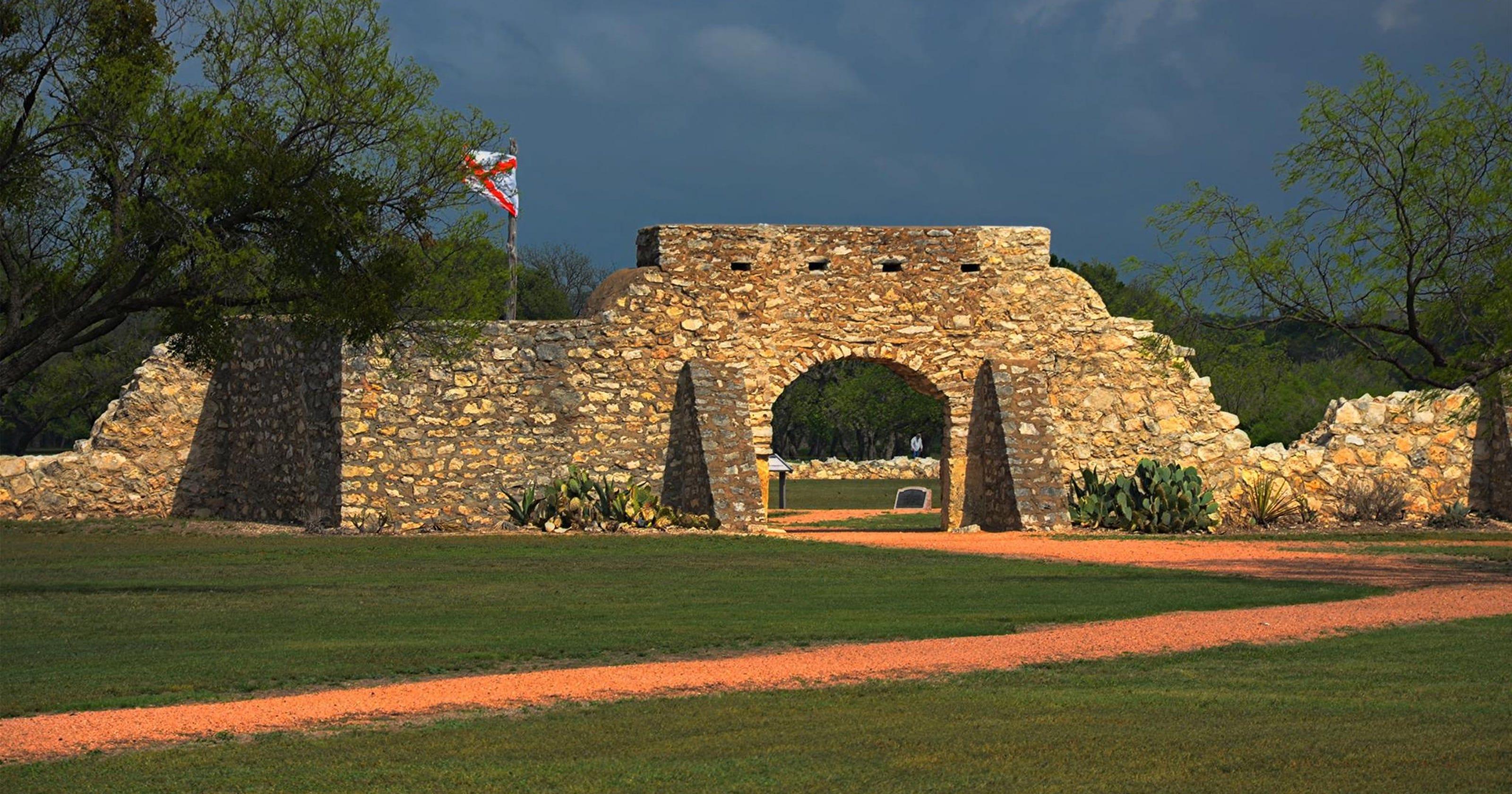 Not \'just a pile of rocks\': Funds sought to restore Presidio de San Saba