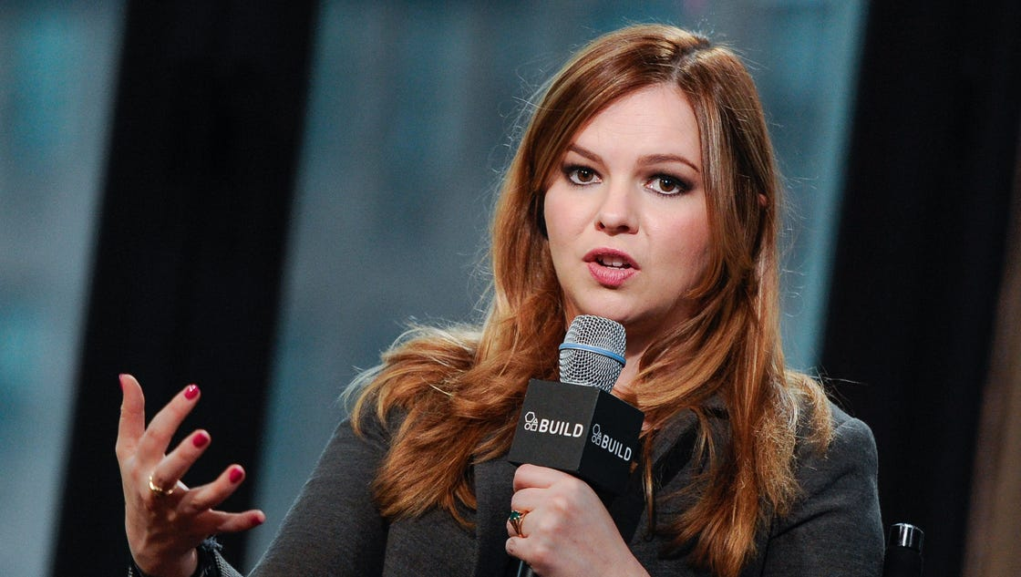 Amber Tamblyn shares story of sexual abuse after Trump tape