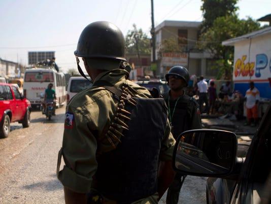 AP Haiti Army