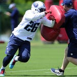 Titans' Antonio Andrews ready for leap into lineup
