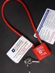 The St. Cloud VA Health Care System is handing out gun locks and information as part of a suicide prevention program.