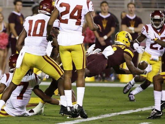 USC .vs Arizona State 2017