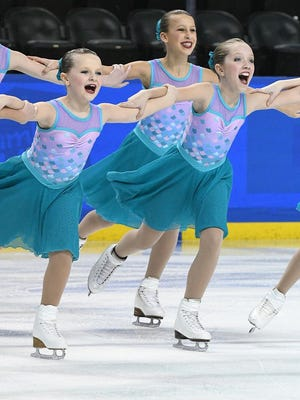 Fond du Lac Figure Skating Club members will perform April 1 and 2 at the Blueline Family Ice Center, 550 Fond du Lac Ave., in Fond du Lac.