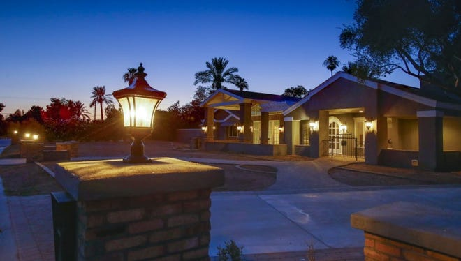 Ranch-style homes are common in the Arcadia area of metro Phoenix.