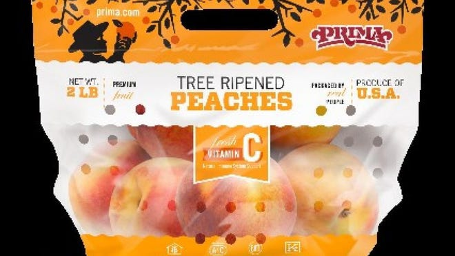 Peaches distributed by Prima Wawona of Fresno, Calif. between June 1 and Aug. 19 were recalled because of possible salmonella contamination.