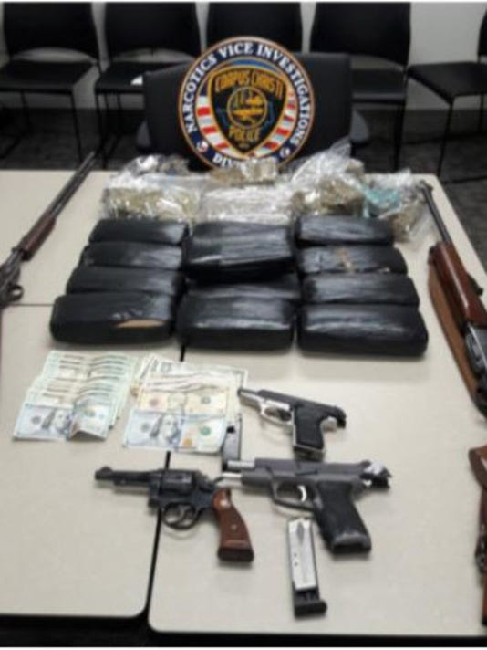 CCPD: Weapons, drugs seized in bust
