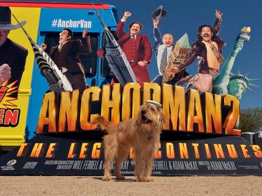 AnchorVan Unveiled for _Anchorman 2%3A% The Legend Continues_ Digital Debut