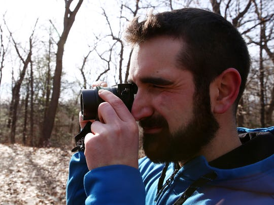Luke Kelly of Red Hook at Ferncliff Forest in Rhinebeck on Wednesday, January 31, 2018. Kelly, 28,  has travelled to 5 continents and has over 25,000 followers on instagram which features photos of his travels.